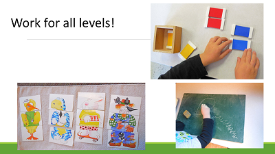 work for all levels even emergent learners