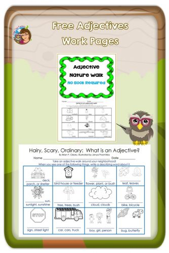 adjective-book-activity-and-nature-walk-pages