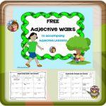 Adjective Walks Around the School Activity