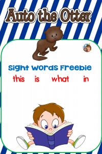 auto-otter-sight-word-reading
