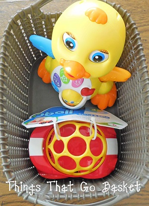 things that go baby basket