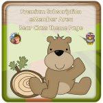 Premium eMember Bear Class Theme PDFs