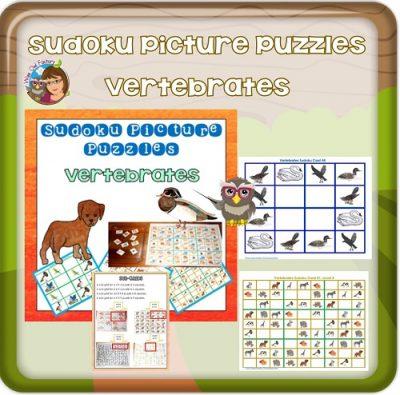 109-page-sudoku-vertebrates-puzzles