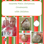 Decorated Kid Made Ornaments