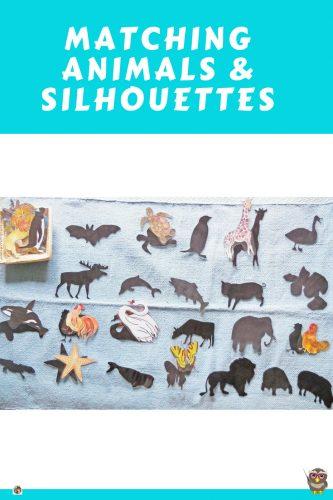 Silhouette Matching Activities by Gramma Elliott