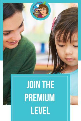 Premium eMember Subscription Information -- join the Wise Owl Factory for a very low introductory price and access educational resources.
