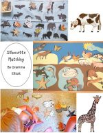 Silhouette Matching Activities by Gramma Elliott