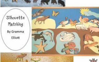 matching activity by Gramma Elliott