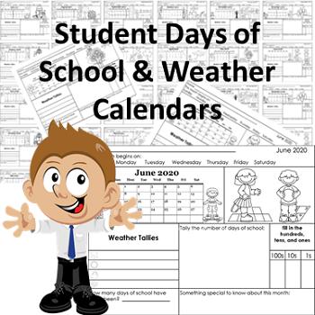 student-weather-and-days-of-school-thru-June-2020-calendars