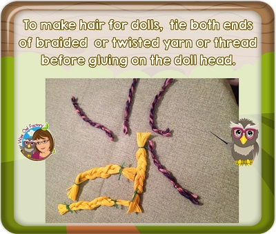 to-make-doll-hair-twist-or-braid-yarn-or-glue