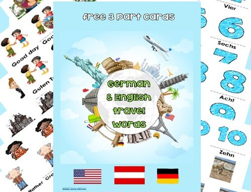 Multicultural Children's Book Day Book Review and Free German Words PDF