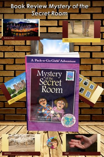 This post has a video trailer and a book review for Mystery of the Secret Room by Janelle Diller, with free printable.