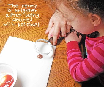 clean-a-penny-with-ketchup