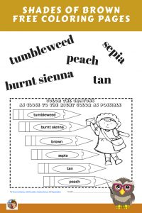 coloring-pages-for-shades-of-brown-color-words-practice