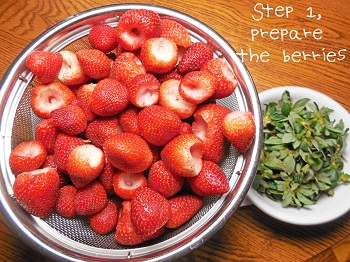 Make Strawberry Jam in a Crock Pot at Home or School