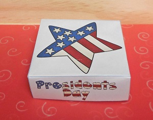 Nesting Boxes Paper Folding for Presidents' Day Free PDF