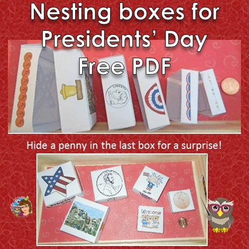 free PDF nesting-boxes-paper-folding-activity-for-Presidents-day