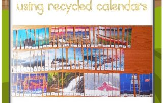 counting-with-recycled-calendars-DIY-project
