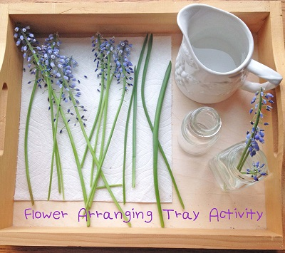 flower-arranging-tray-activity-Montessori-inspired