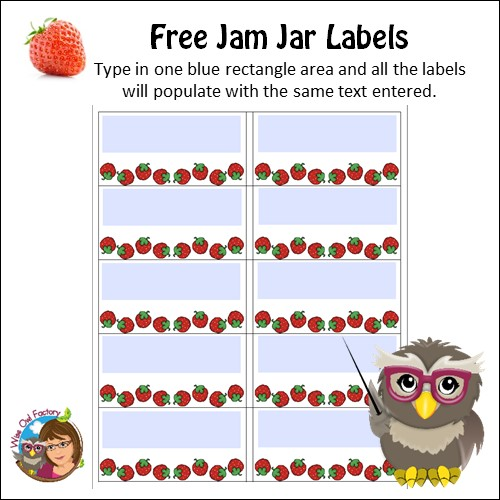 jam-jar-labels-to-edit-free-PDF