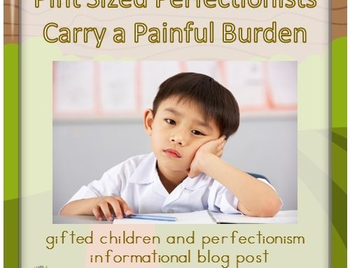 Pint Sized Perfectionists Carry a Painful Burden