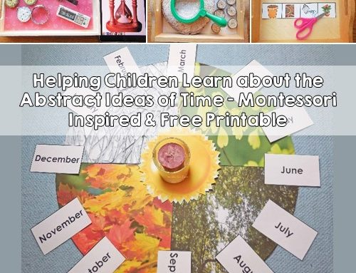 Teaching the Abstract Idea of Time to Children