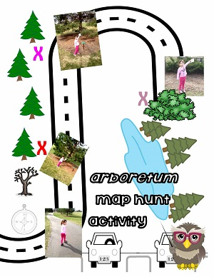find-x-marks-the-spot-on-the-path-map