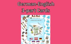 3-part-cards-German-English Free