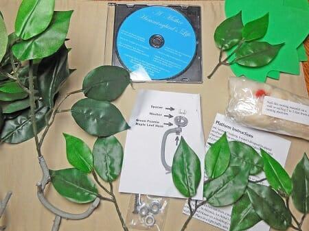 Hummingbird-house-kit-materials-and-informational-DVD