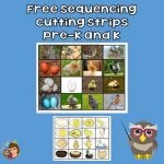 Sequencing Cutting Strips Pre-K and Up Free PDF