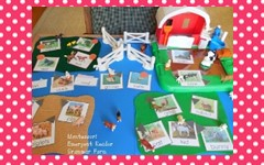 Mini Montessori Grammar Farm Printable Cards