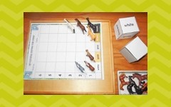 free graphing activities for horse color words