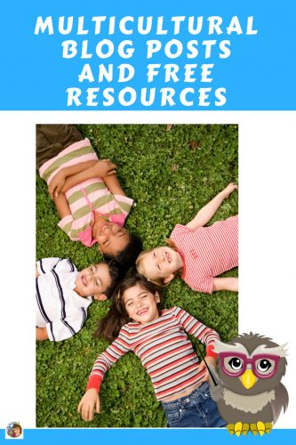 Multicultural Blog Posts and Free Resources -- this post has links to the free multicultural blog posts and freebies