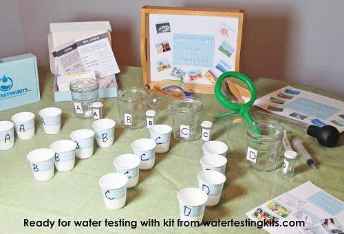 Water Testing Kits for Science and Free instant download PDF