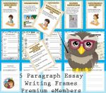 5 Paragraph Teaching Posters and Student Pages
