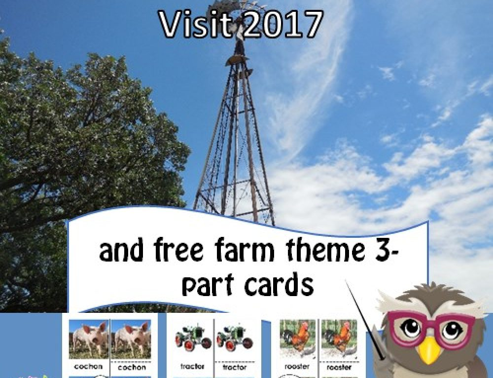 Eidem Homestead Visit and Free 3-Part Farm Cards