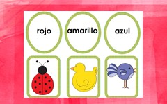 Color-words-picture-matching-Spanish-words-19-pages-free