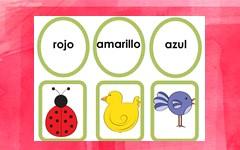 Spanish Color Words Free PDF Los Colores