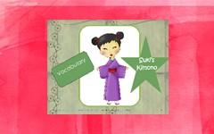 Free Printable for Suki's Kimono