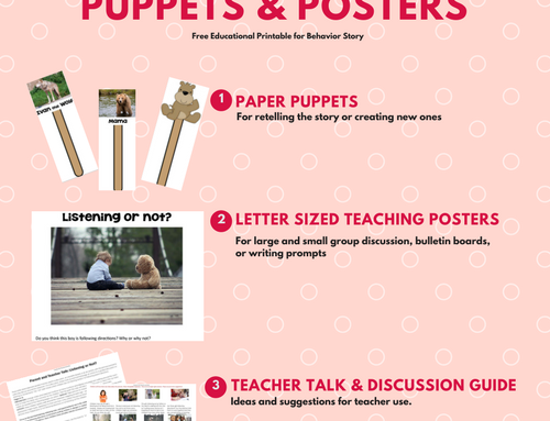 Fuzzy Wuzzy Posters and Paper Puppets Free PDF