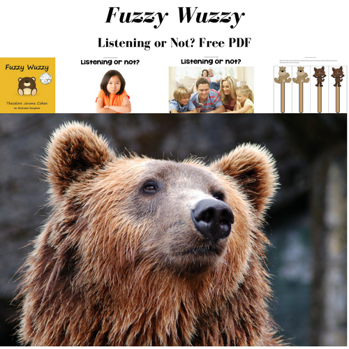 Fuzzy Wuzzy Behavior Story Book Review and Free PDF