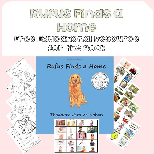 Rufus Finds a Home free educational printable