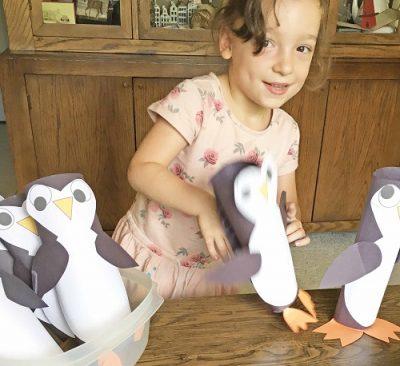 penguin-construction-paper-project-idea