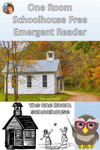 printable-emergent-reader-one-room-schoolhouse