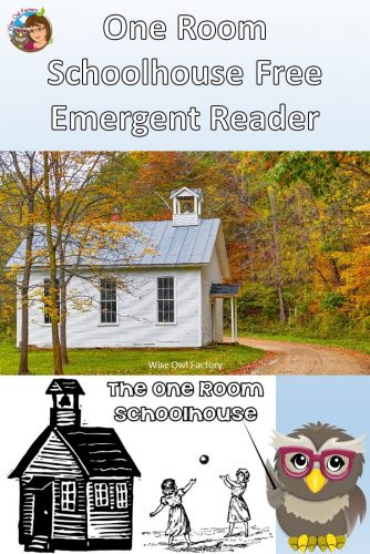 printable-emergent-reader-one-room-schoolhouse
