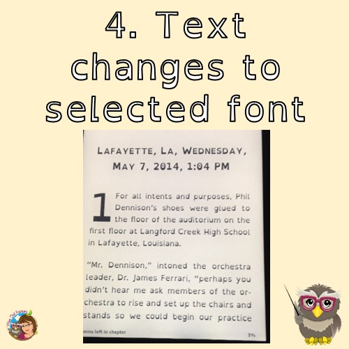 OpenDyslexic Font for Electronic Devices and Kindle