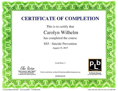 suicide-awareness-class-certificate