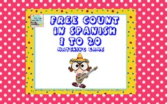 Count to 20 in Spanish