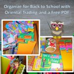 Oriental Trading Helps Organize Back to School