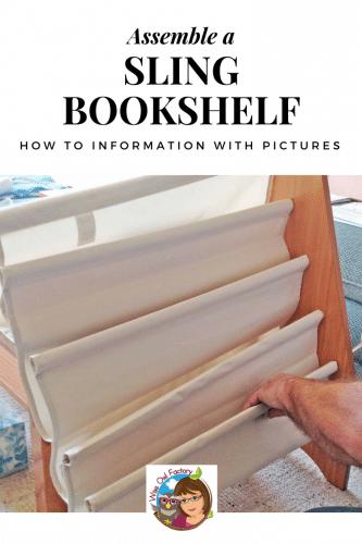 Assemble-a-sling-bookshelf-for-children